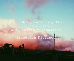 frases, friedrich nietzsche, and dios image