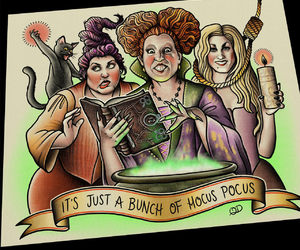 etsy, Halloween, and hocus pocus image