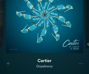 cartier, lit, and spotify image
