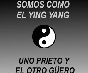 aesthetic, frases, and ying yang image