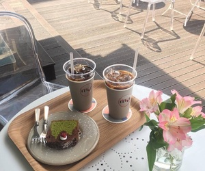 aesthetic, food, and cafe image