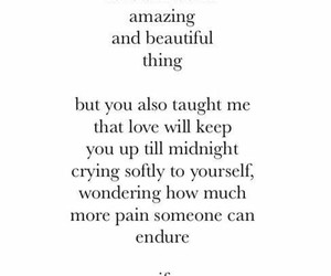quotes, love, and pain image