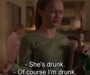 drunk, grunge, and sad image