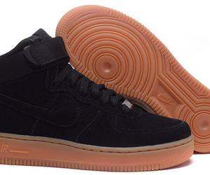 Nike Air Force 1 High Suede Black Nude