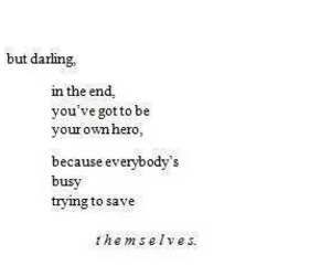 quote, hero, and darling image