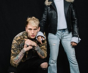 camila cabello, machine gun kelly, and fifth harmony image