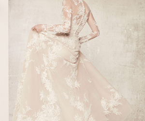 elie saab, fashion, and bridal image