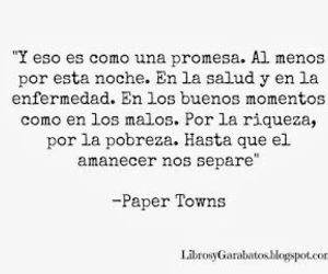 frase, john green, and paper towns image