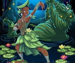 disney, tiana, and avatar image