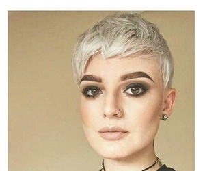 hair, short, and pixie cut image