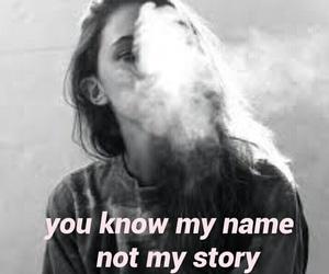 cigarettes, girl, and sad image