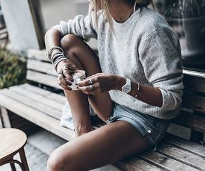 fashion, looks, and coffee time image