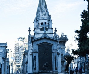 aesthetic, cementery, and argentina image
