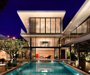 architecture, gold, and luxe image