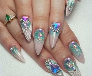 art, fashion, and nail image