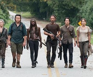 the walking dead, twd, and header image