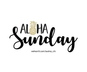 Aloha, daily, and day image