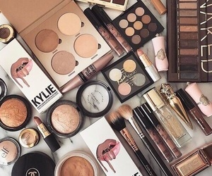 girls, makeup, and kylie image