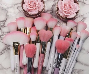 Brushes and pink image