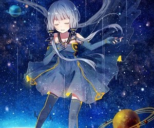 art, stardust, and vocaloid image