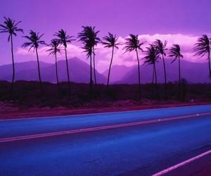 aesthetic, grunge, and purple image
