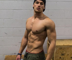 boy, handsome, and muscles image