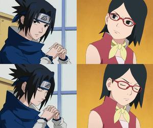 anime, father, and naruto image