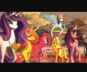 colored, friendship, and MLP image