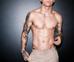 boys, tattoo, and guy image