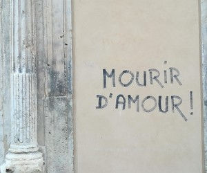 amour, graffiti, and inspiration image