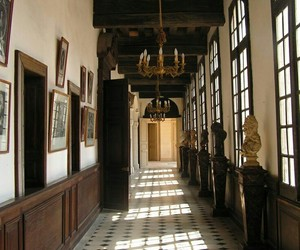 corridor, windows, and interior image