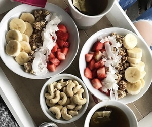 breakfast, love, and healty image