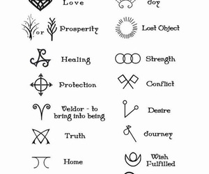 symbol and tattoo image