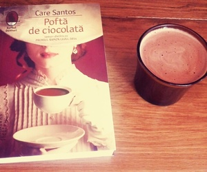 book, ❤, and ☕ image