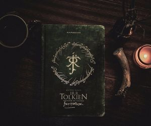 candle, j.r.r. tolkien, and tolkien image