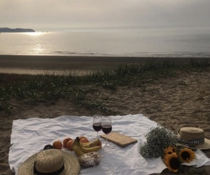 adventure, food, and beach image
