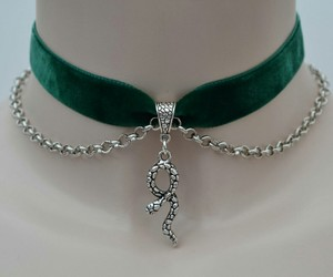 choker, green, and harry potter image