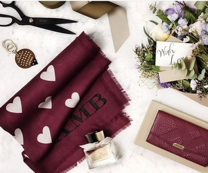 Burberry, fashion, and hearts image