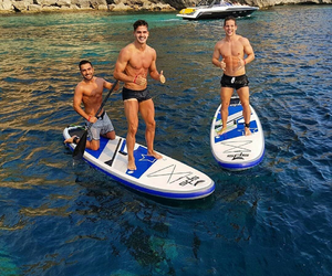 Andre, ibiza, and friends image