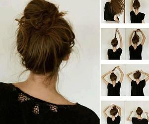 messy bun and add more tags image