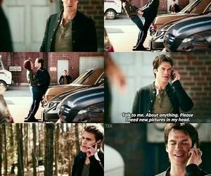 damon, stefan, and Vampire Diaries image