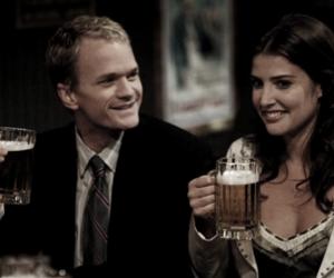 Barney Stinson, couple, and himym image