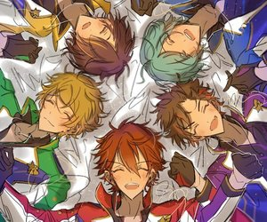 unit, ensemble stars, and ryuseitai image