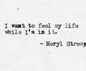 quote, life, and meryl streep image