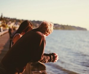 couple, fashion, and Hot image