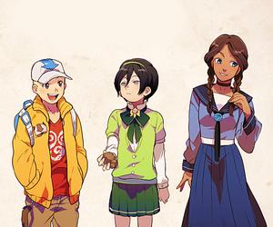 avatar, katara, and atla image