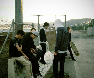 boy, skate, and guy image
