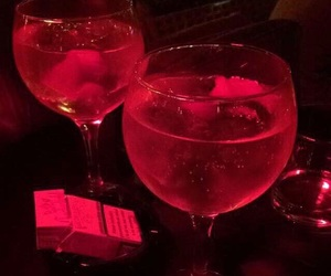 drink, aesthetic, and red image