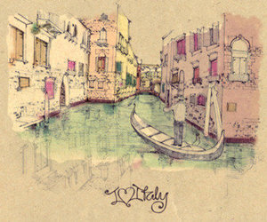 art and italy image