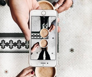 coffee and technology image